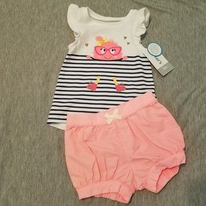 Carters tank and short set. NWT 0-3 months